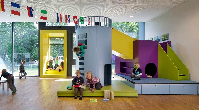 Современный детский сад в германии.